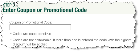 coupon code example